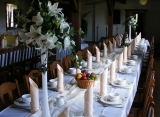 Sala weselna w Dzikiej Zagrodzie
